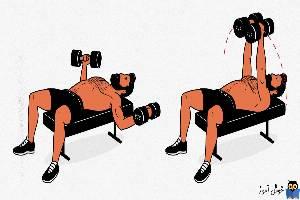 5 حرکت تمرینی بدنسازی برای حجم عضلات بالا سینه