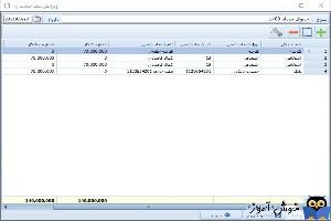 ثبت سند حسابداری دستی در نرم افزار فروشگاهی راهکار